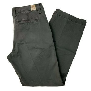 Lucky Brand Mens Gray Chino Pants Size 33x32